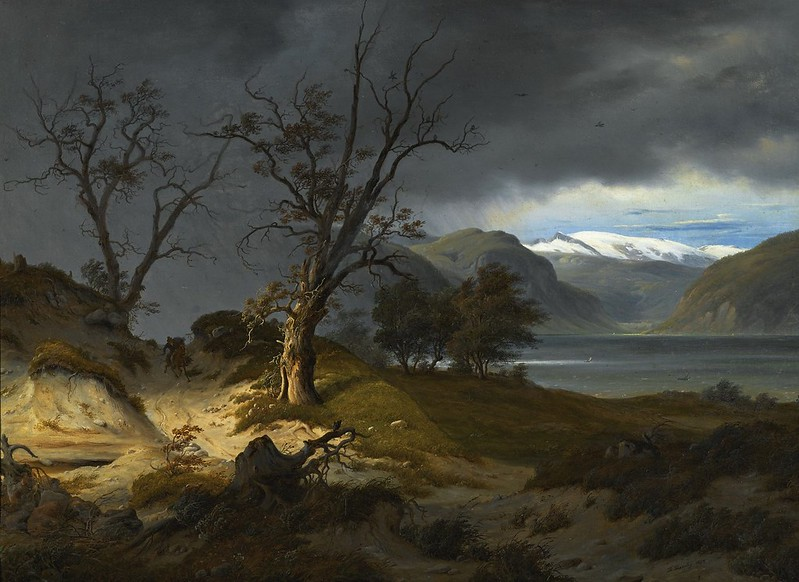 Thomas Fearnley - Rider in a landscape