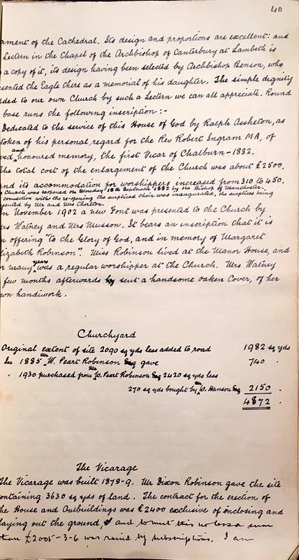 Church and Chatburn History