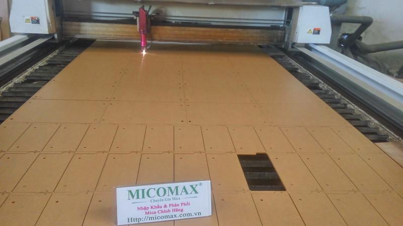 dịch vụ gia công laser Mica theo yêu cầu tại Hà Nội