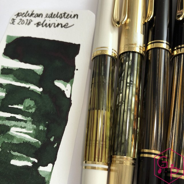 Pelikan Edelstein Olivine Ink Review @AppelboomLaren @Pelikan_World 6