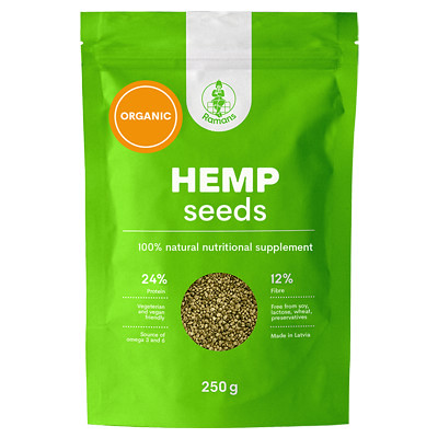 Ramans Hemp Seeds