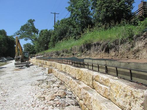 Little Walnut Creek at Marywood Circle Stream Restoration Project