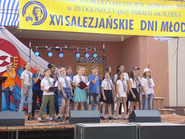 Występ zespołu Sal - Canto na XVI Salezjańskich Dniach Młodości