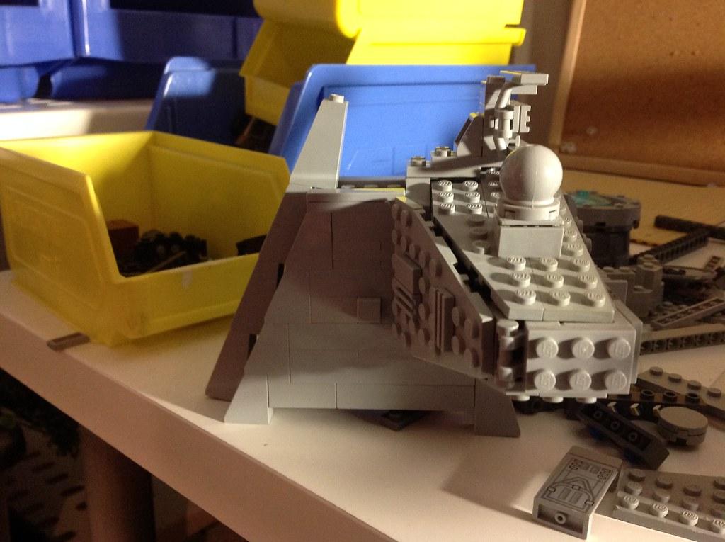 Lego Star Destroyer build