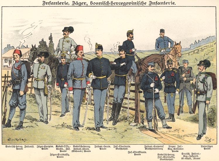 k.u.k. Infantry 1898