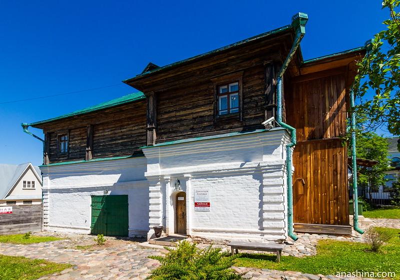 Дом купца Агапова, Музей деревянного зодчества, Суздаль