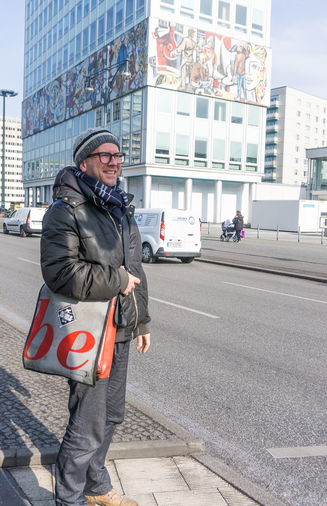 """Our Life"" by Walter Womacka (1964) - AirBnB Experience - Walking Tour with a Journalist to Discover East Berlin, March 2018"