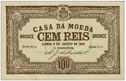 Madeira Casa da Moeda scrip note