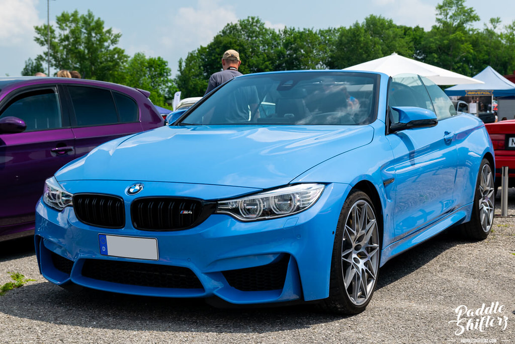 BMW meeting in Aschheim - paddle shifters