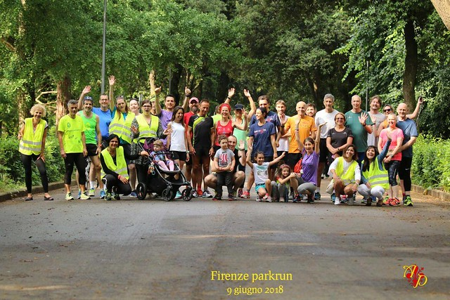 Firenze parkrun n. 37 - 9 Giugno 2018
