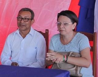 Nova baixa baixa no governo Chico Alfaia, a secretária de Educação, Chico e Ananilva