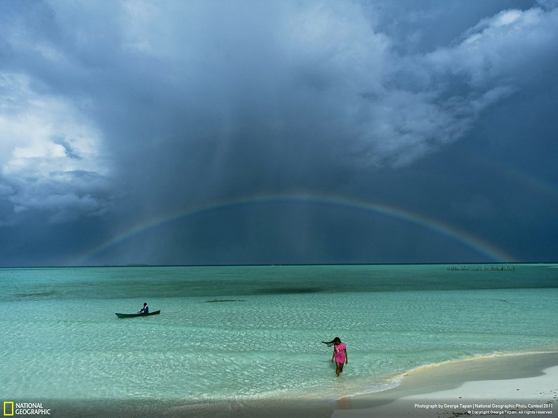 Balabac Island - National Geographic contest photo by George Tapan