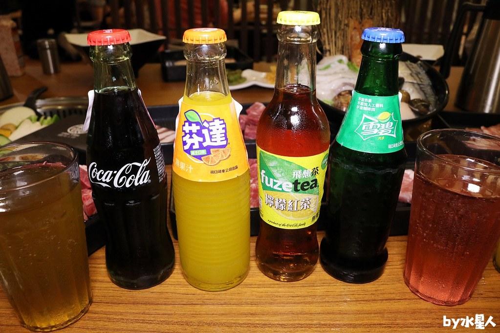 玻璃瓶裝飲料無限喝