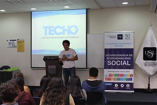 Como parte del convenio firmado entre la Universidad San Ignacio de Loyola (USIL) y la ONG TECHO, los días 23 y 26 de mayo se desarrollaron sesiones de Inducción con estudiantes USIL