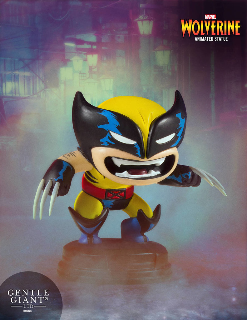 好啦乖!不要再生氣囉~ Gentle Giant Marvel Comics【金鋼狼】Wolverine Animated Statue
