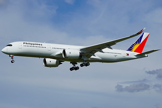 First Airbus A350-900 for Philippine Airlines, back from maiden flight