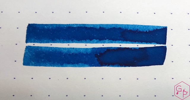 KWZ Ink Hawaii Blue Ink Review 10