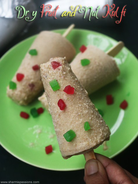dry fruits kulfi recipe