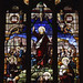Bilton, Rugby, Warwickshire, St. Mark's, south aisle, stained glass window, detail