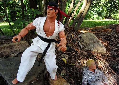 GI Joe Street Fighter II Ryu | by decobray