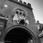 Confusioni prospettiche - Volto del Cavallo - Ferrara