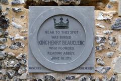 Henry I Plaque