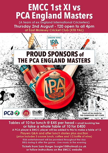 PCA Masters XI