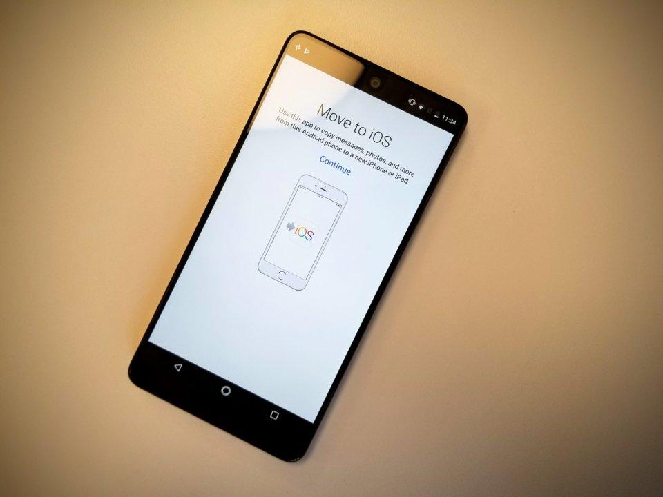 chuyển đổi android sang ios