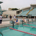Malini & Darren TAGS 10km Dhaka swim