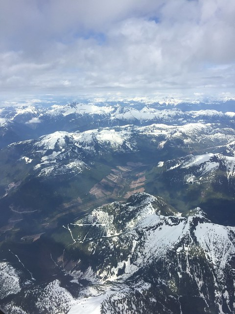 Mountains around Vancouver