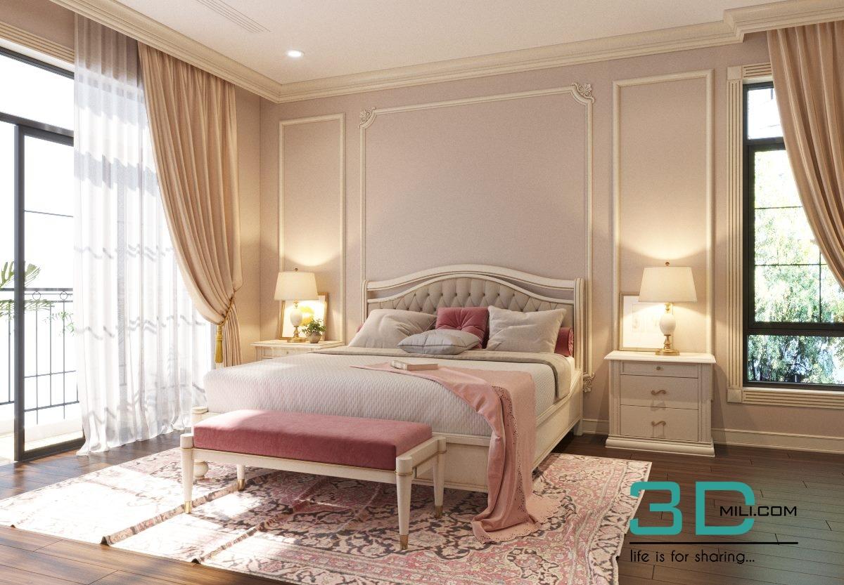 266 Bed 3d Models Free Download 3d Mili Download 3d