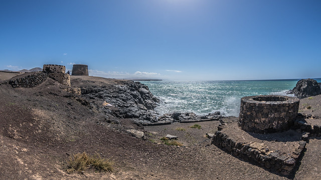 Castillo el Toston, Sony ILCE-7RM2, Canon EF 8-15mm f/4L Fisheye USM
