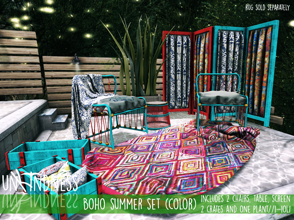 uK - Boho Summer Color Set - FaMESHed - TeleportHub.com Live!