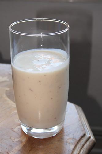 Bananen-Eis-Milch-Shake