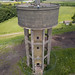 Water Tower by Drone