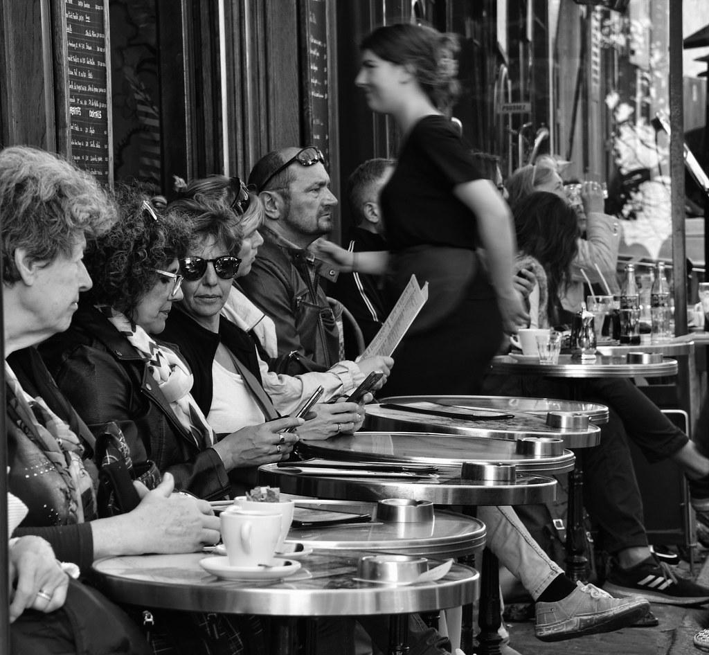 Terrasse De Café Parisien Aude Lewin Flickr