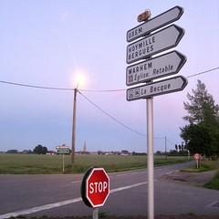 Zicht richting Hondschoote - Photo of Killem