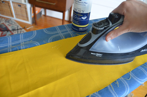 0. Always starch & iron fabric before measuring & cutting!