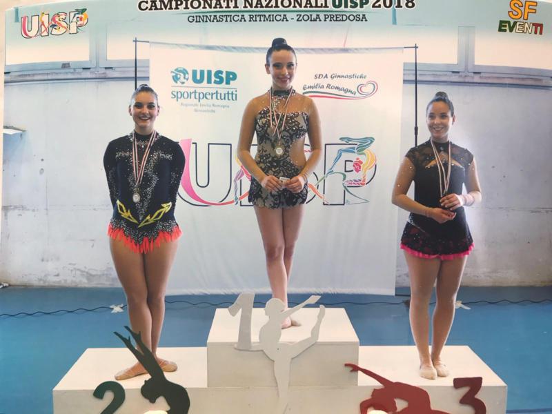 Campionato Nazionale Uisp di ginnastica. Ancora successi per la società sportiva il Cigno asd