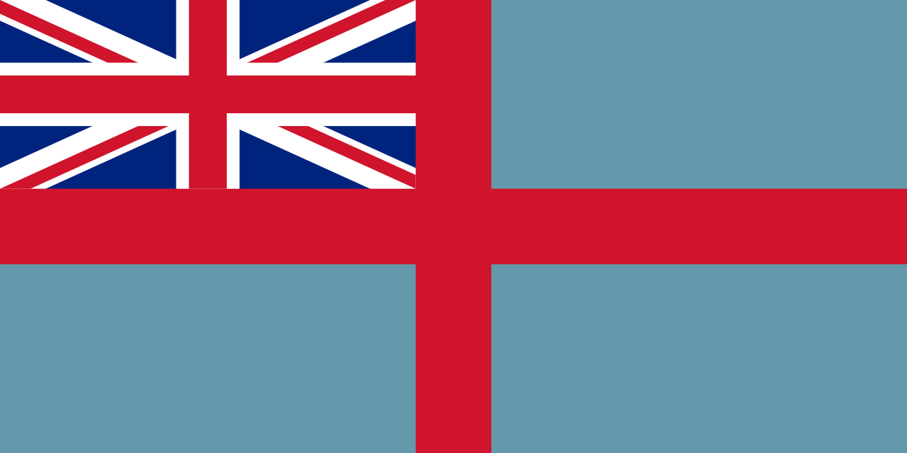 The so-called Queensland Separation Flag, flown in Brisbane on December 10, 1859, to mark Queensland's separation from New South Wales