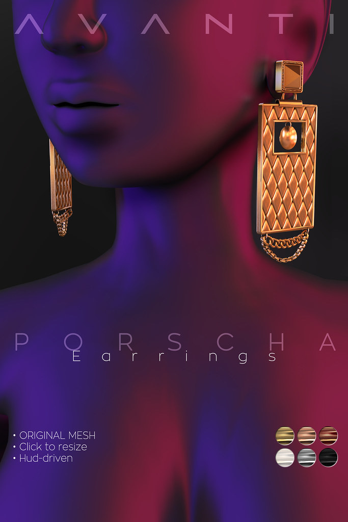 Avanti @ Cosmopolitain: Porscha Earrings - TeleportHub.com Live!