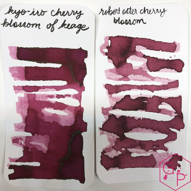 Kyo-Iro Cherry Blossoms of Keage Ink Review @PhidonPens 6