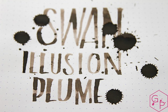Montblanc Swan Illusion Plume Ink Review @AppelboomLaren @Montblanc_World 18