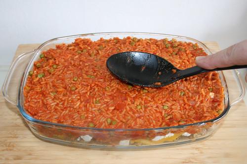60 - Tomatenreis glatt streichen / Even tomato rice