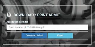 WBSCVT ITI Admit Card
