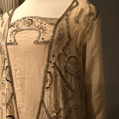 Detailing on 1920s Dress