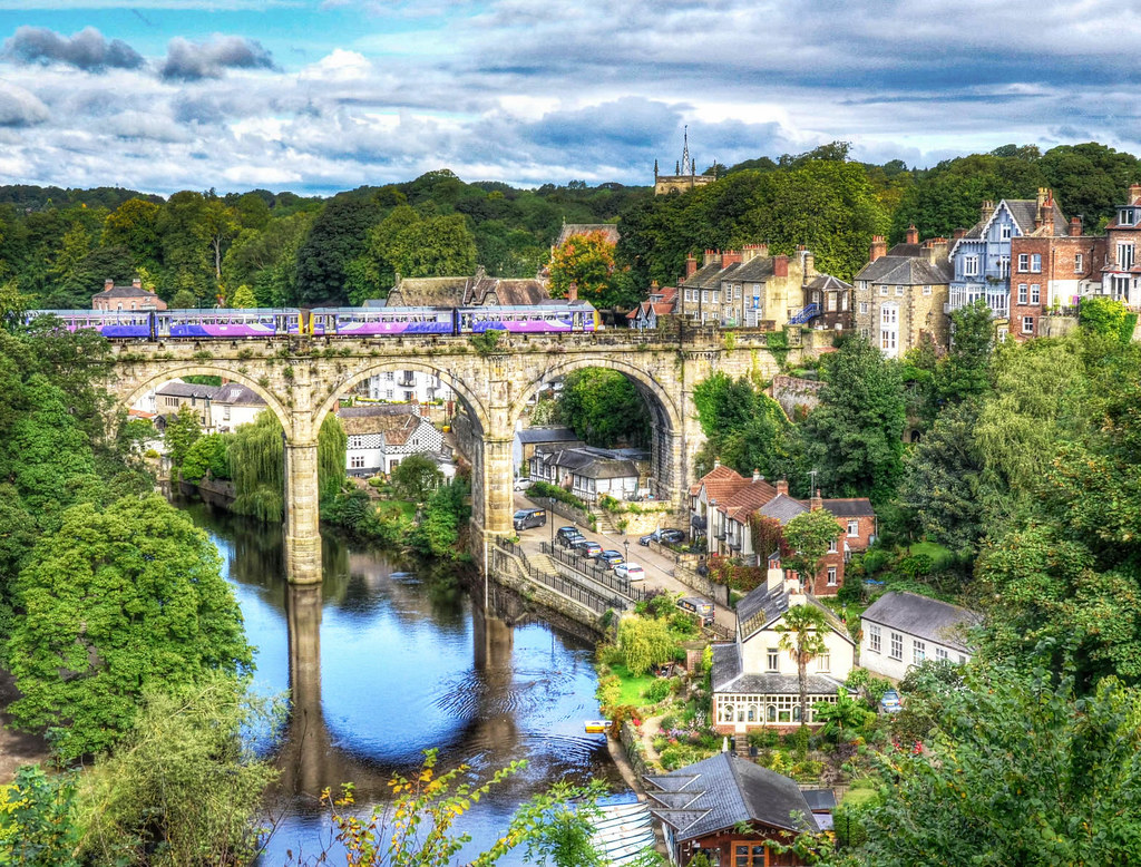 Knaresborough, North Yorkshire. Credit Baz Richardson, flickr