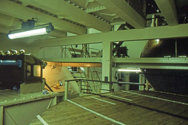 Brora Distillery on Closing Day, 1983 (Original Clynelish Distillery). Still Room, Whisky Vat. (T)