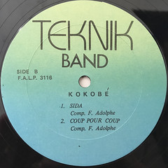TEKNIK BAND:KOKOBE(LABEL SIDE-B)