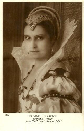 Viviane Clarens in Le tournoi dans la cité (Jean Renoir 1928)